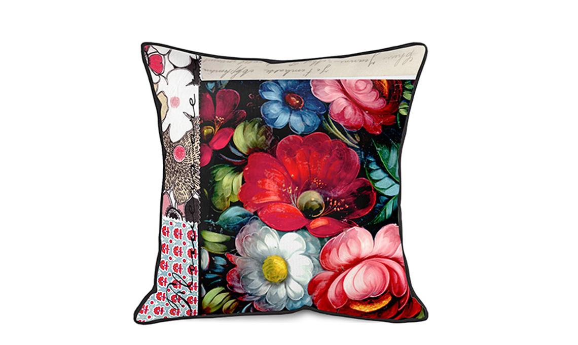 cuscino fiori