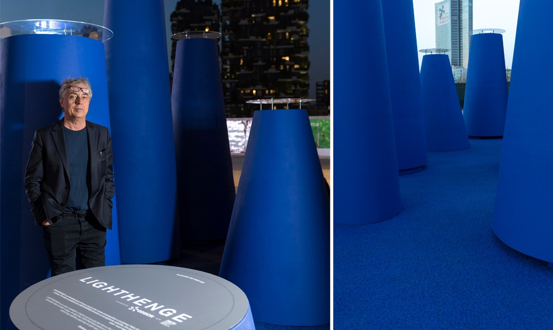 fuirisalone 2018: LightHenge, l'installazione di Edison e Stefano Boeri Architett nell'Innovation Design District