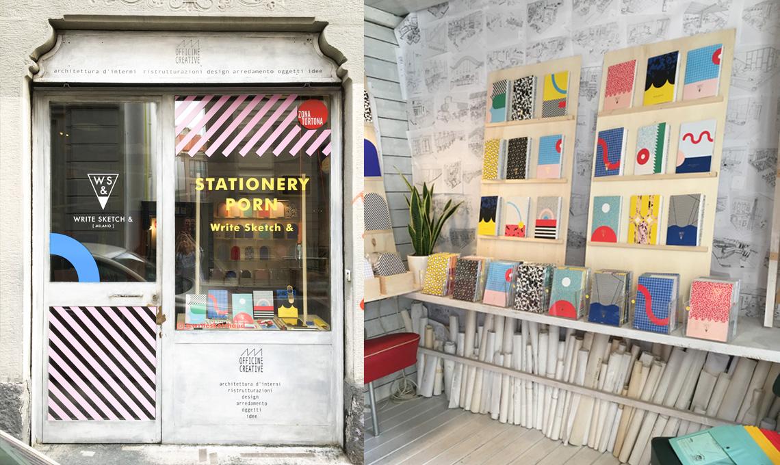 Write Sketch & via Savona 17, Milano