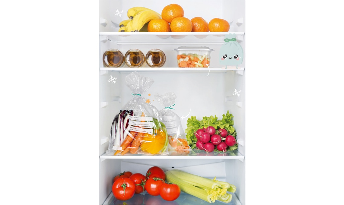 conservare frutta verdura in frigorifero
