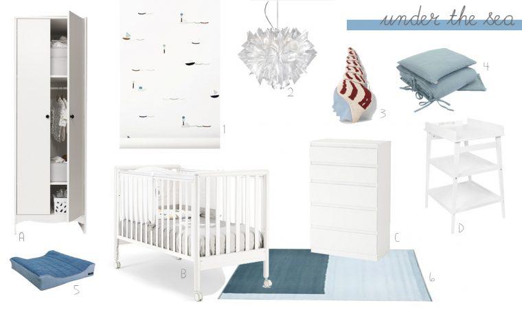 Neonati: 5 stili per una cameretta