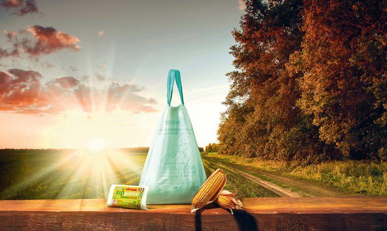 Sacchetti biodegradabili e compostabili per l'umido
