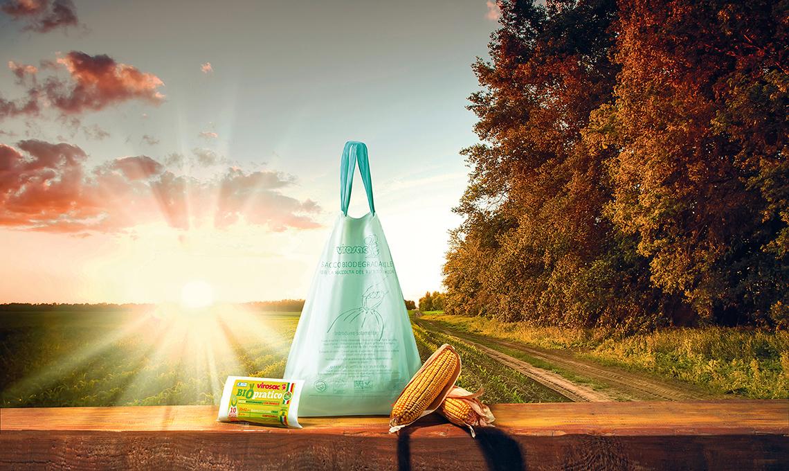 sacchetti biodegradabili