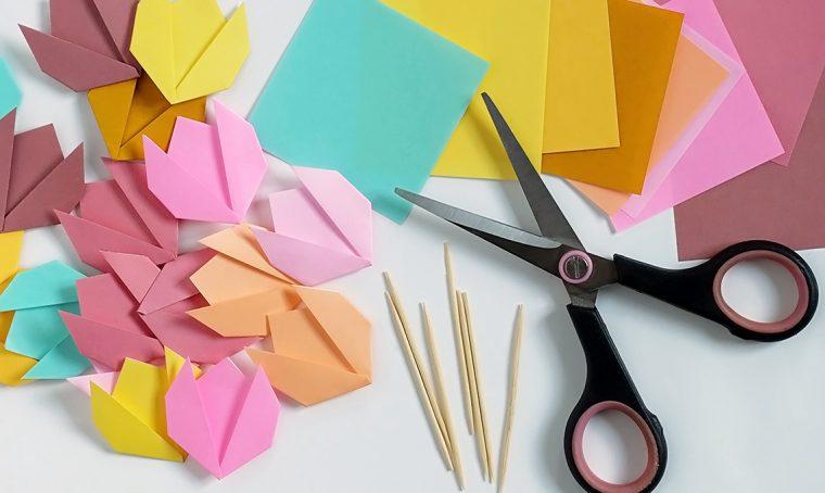 CasaFacile SSebastiani tulipani origami 2
