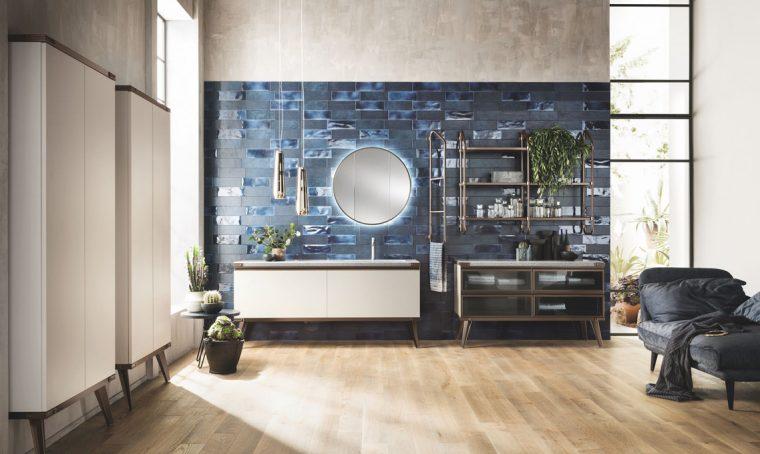 Il bagno secondo Scavolini e Diesel