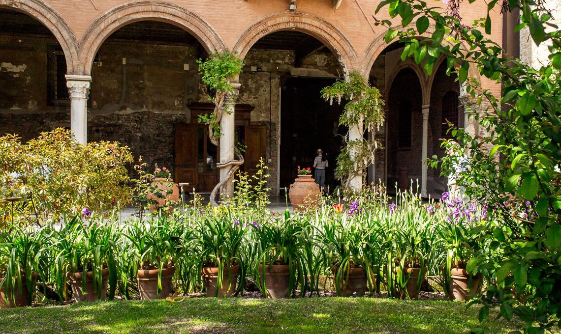 Interno Verde A Ferrara 70 Giardini Privati Aprono Al