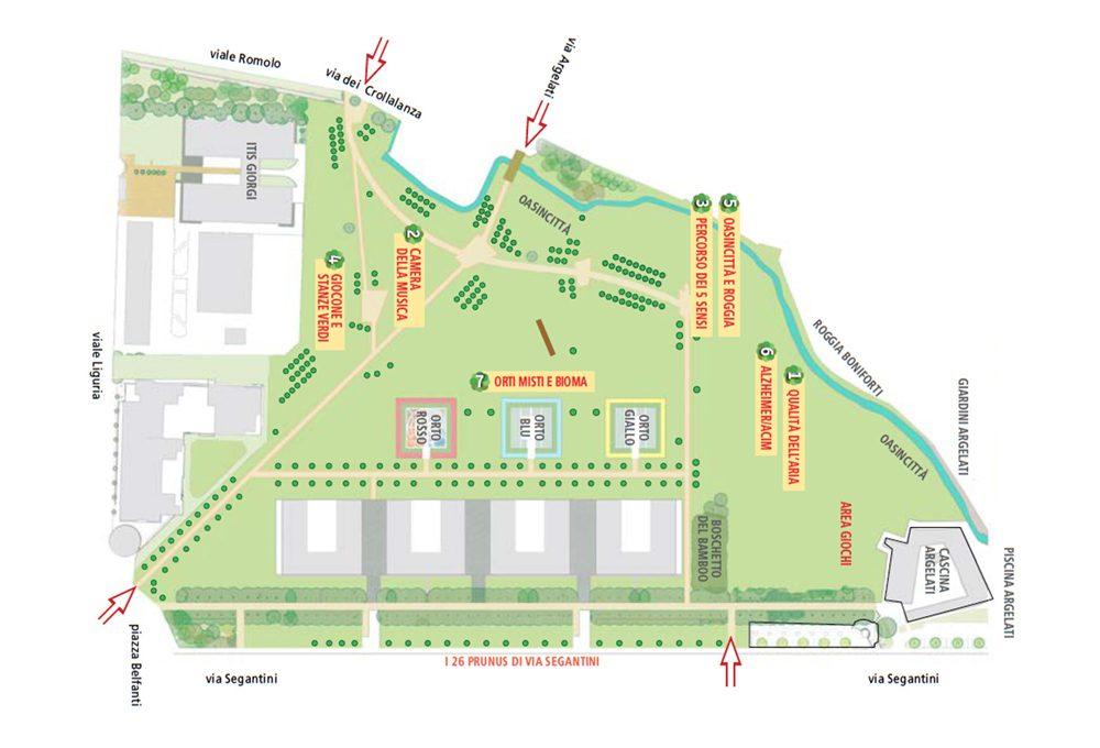 Milano Smart Park Segantini: ci vediamo al tronco!