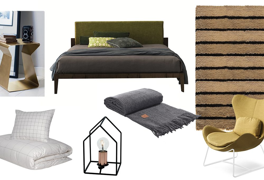 Attorno al letto: la camera per lui