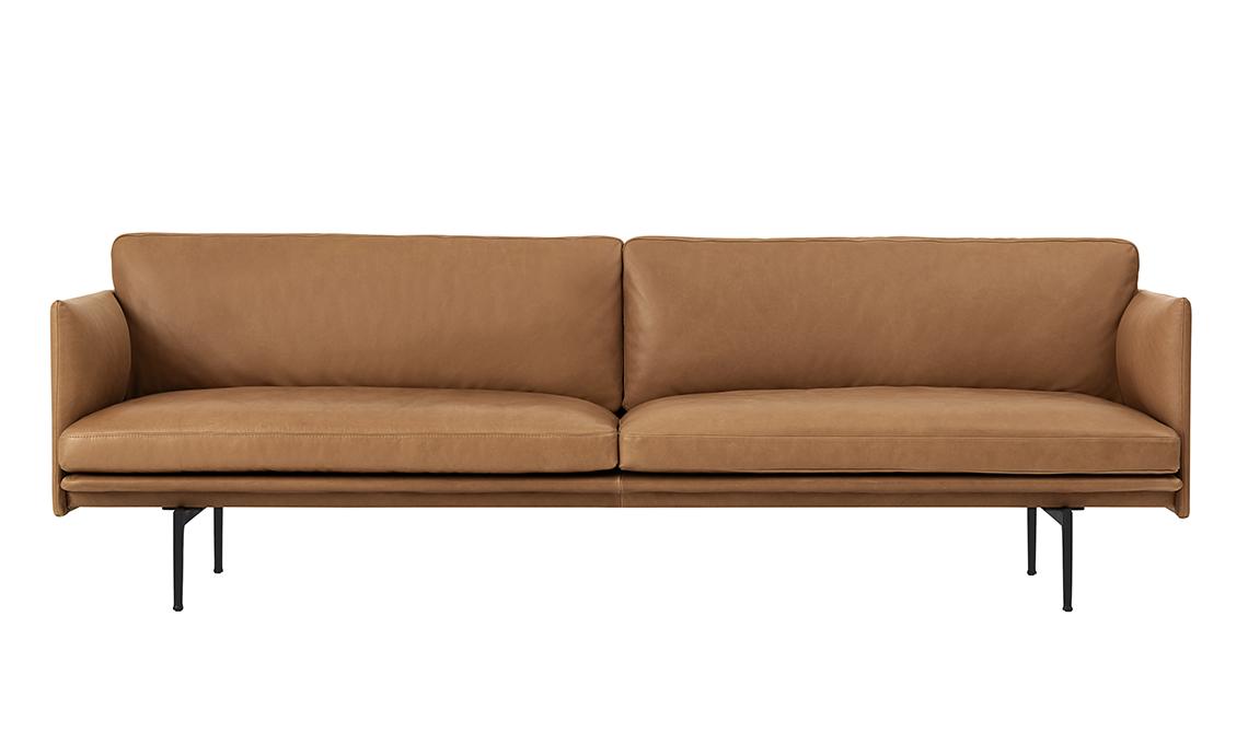 Il divano di pelle marrone torna di moda: scegli il tuo ...