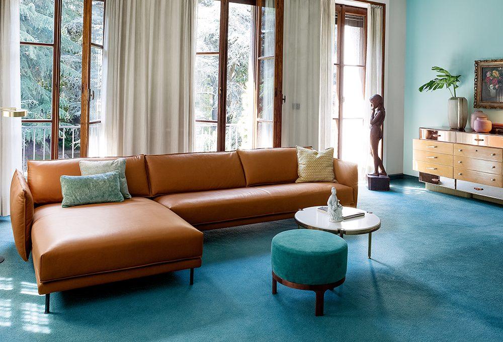 Il divano di pelle marrone torna di moda: scegli il tuo preferito