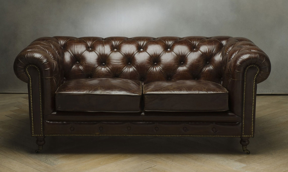 divano chester pelle