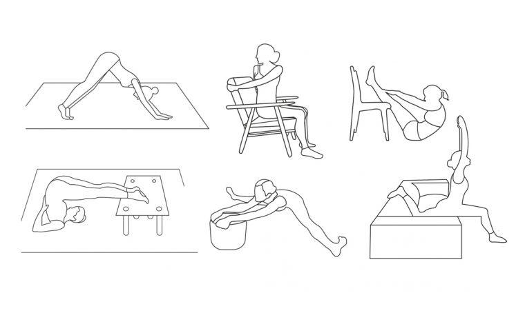 Esercizi yoga da fare in casa