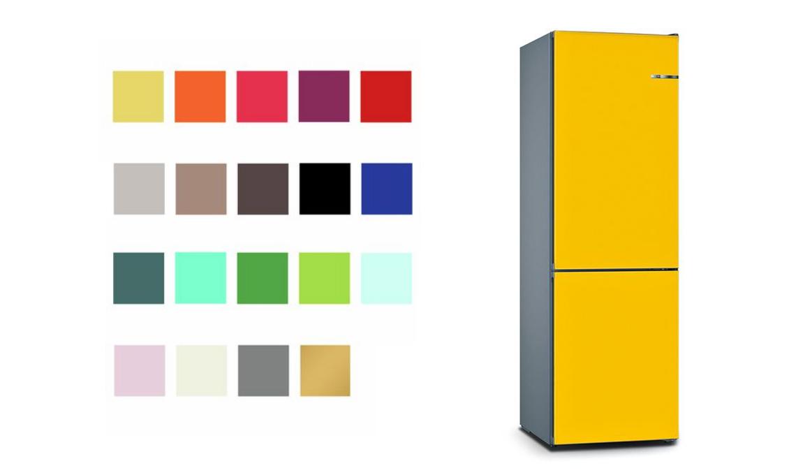 frigorifero bosch colorato