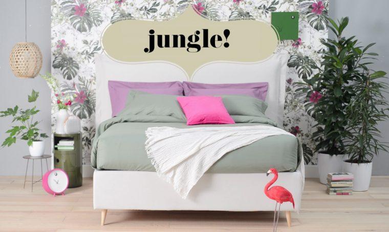Copia lo stile: il letto 'jungle'