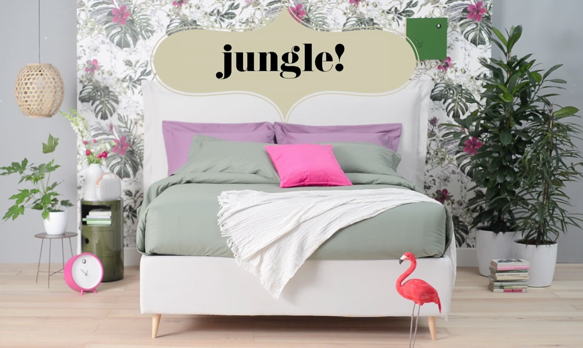 Copia lo stile il letto jungle casafacile for Camera letto jungle
