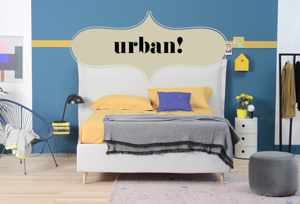 Copia lo stile: il letto 'urban'