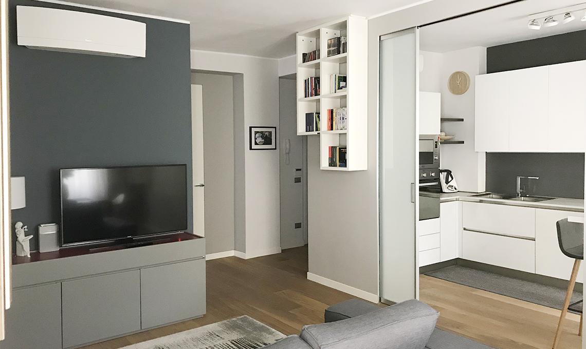 Da appartamento anni 39 70 a casa moderna con soluzioni Esempi di ristrutturazione appartamento