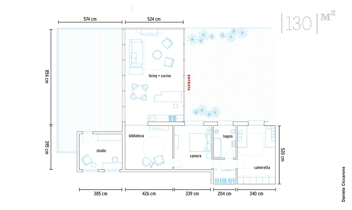 planimetria casa anabella
