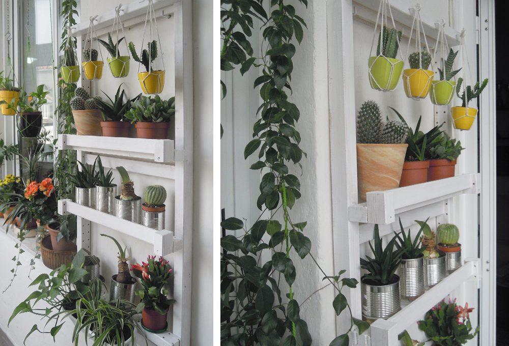 Porta piante da appendere fai da te