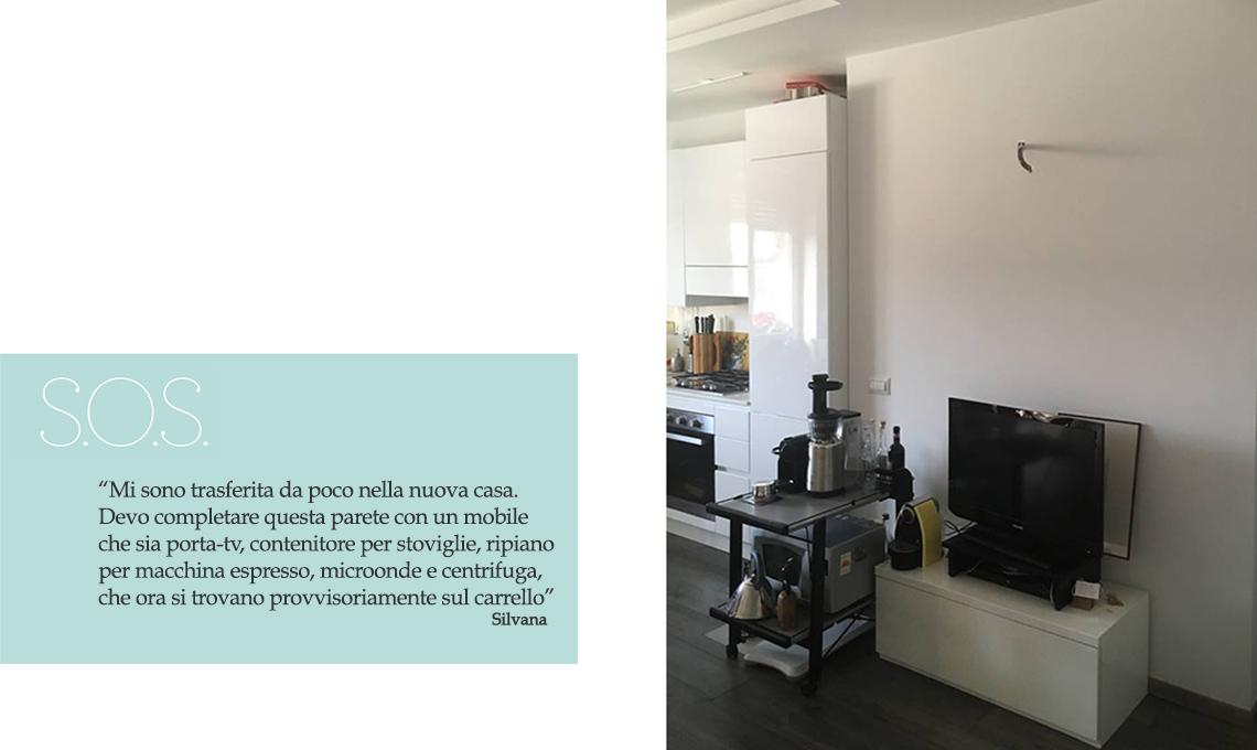 Cucina a vista: ecco un mobile TV multifunzione - CASAfacile