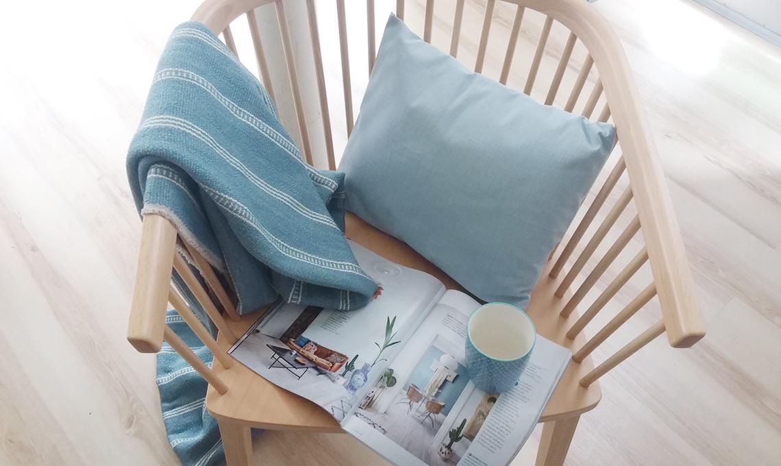 camera da letto stile nordico