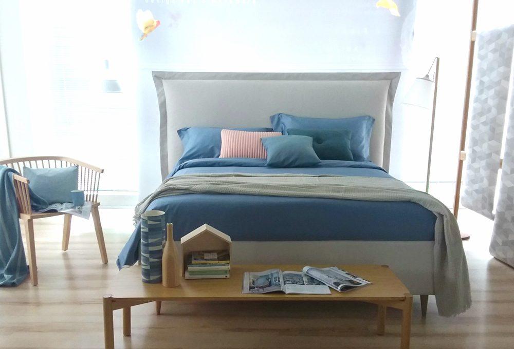 Stile nordico e colori pastello per la camera da letto di PerDormire