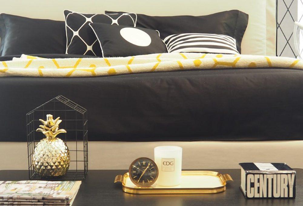 Ispirati allo stile optical per creare una camera elegante ed essenziale con Perdormire