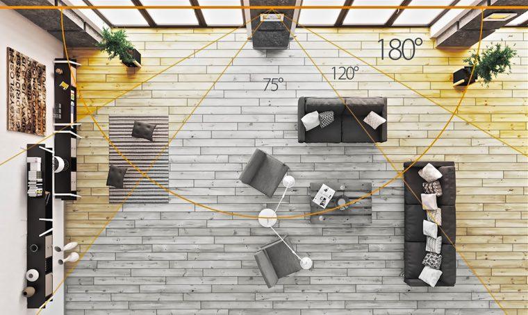 Videocamera panoramica di sicurezza per monitorare la tua casa quando non ci sei