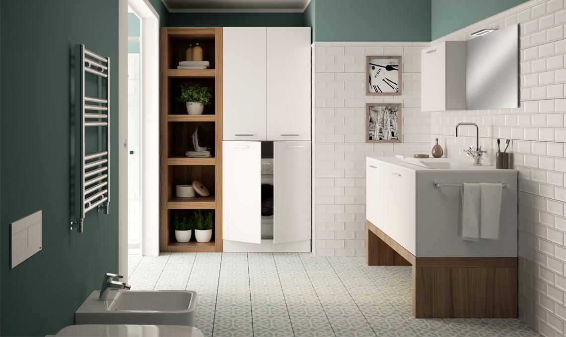Con leroy merlin il bagno ha un fascino rétro casafacile