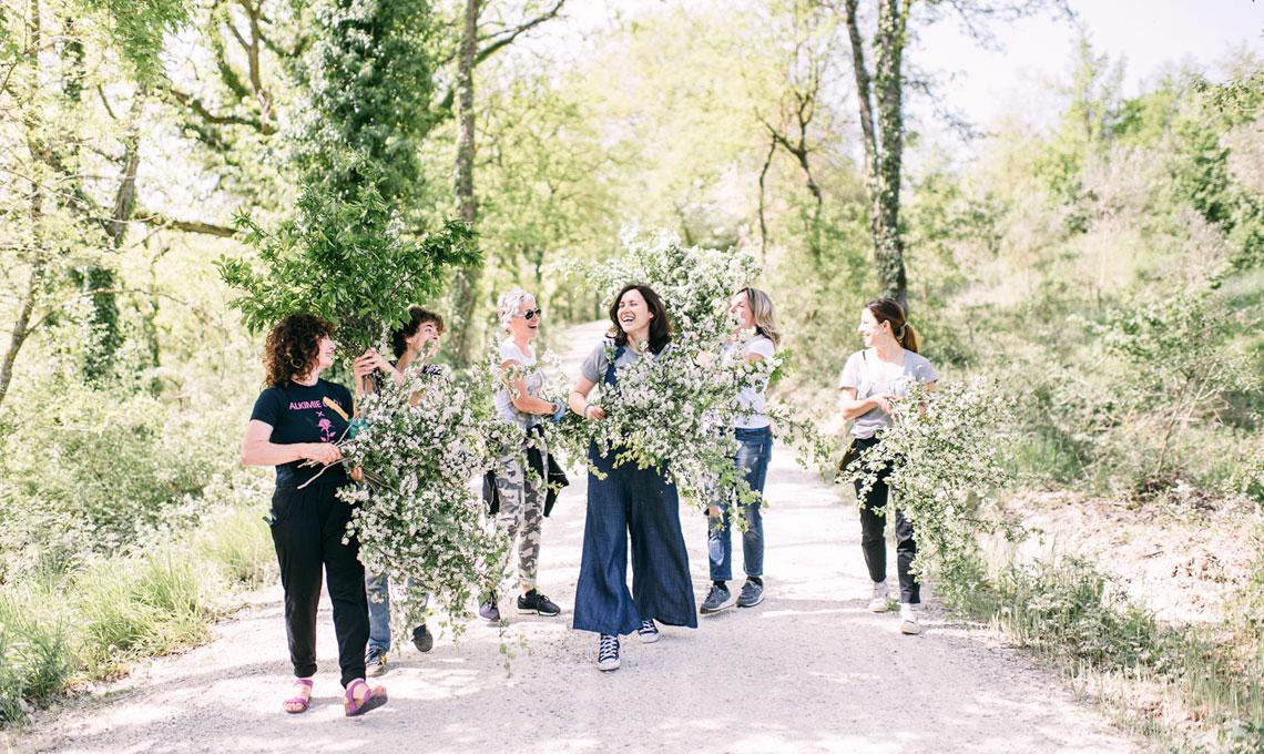 CasaFacile LPoggi fiori km0 bosco
