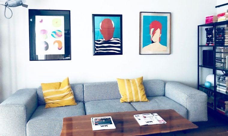 A casa della creativa Fabia Leoni