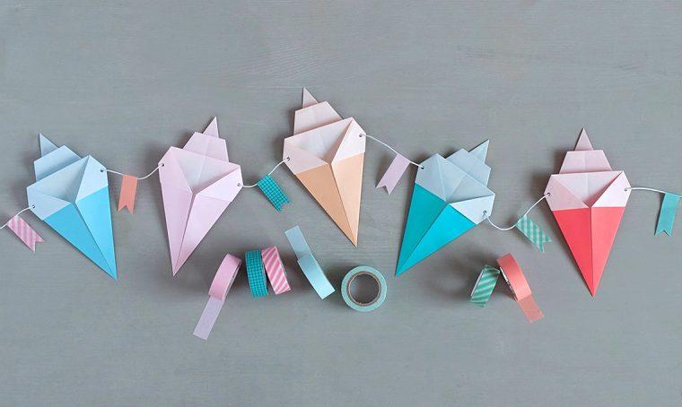Una ghirlanda super golosa di origami