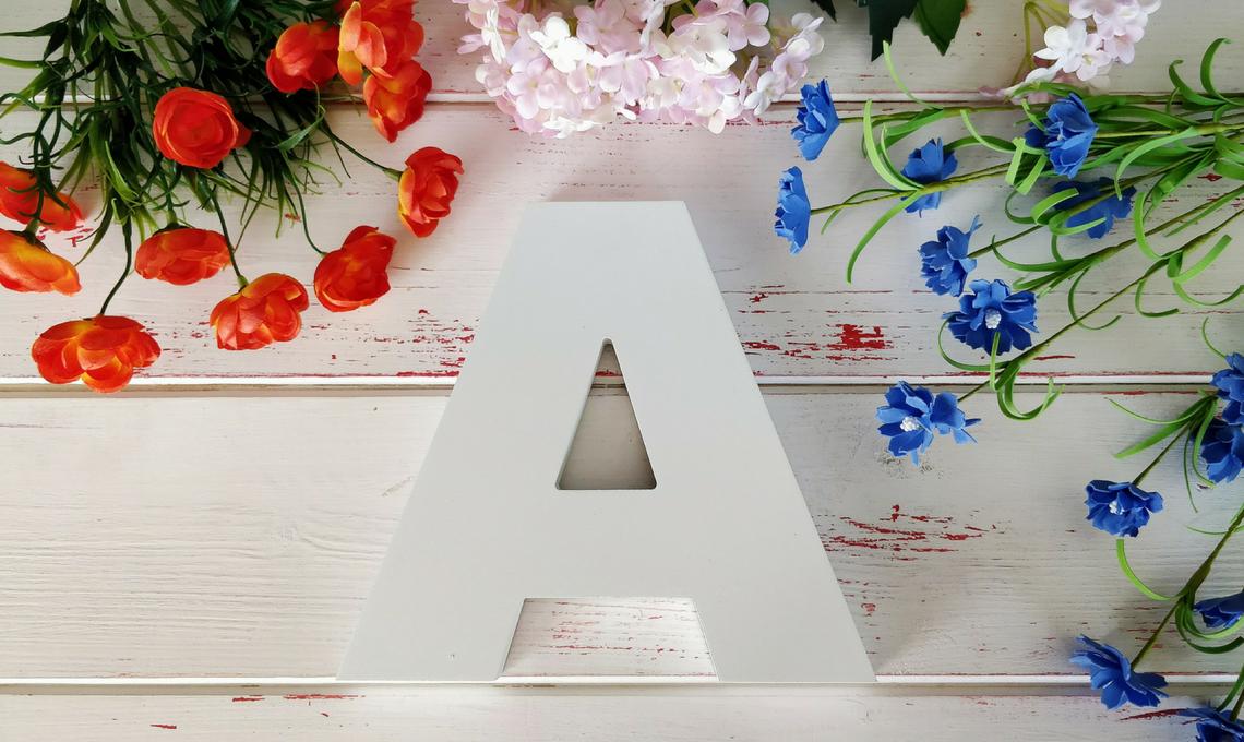 CasaFacile SFilippi flora letter A preparazione