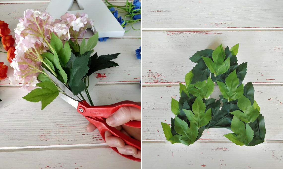 CasaFacile SFilippi flora letter A istruzioni