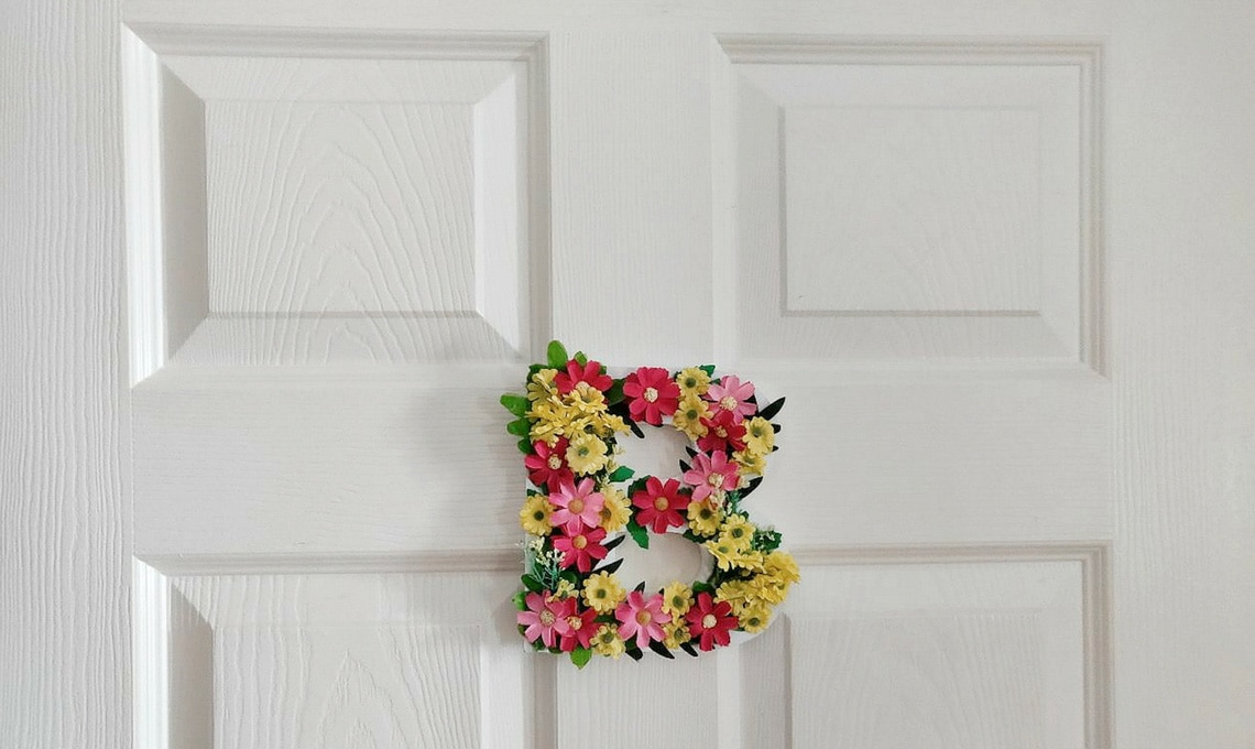 CasaFacile SFilippi flora letter B