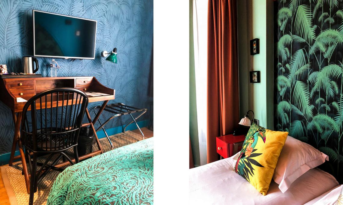 CasaFacile VZorzi stile jungalow hotel Bougainville Nizza camera