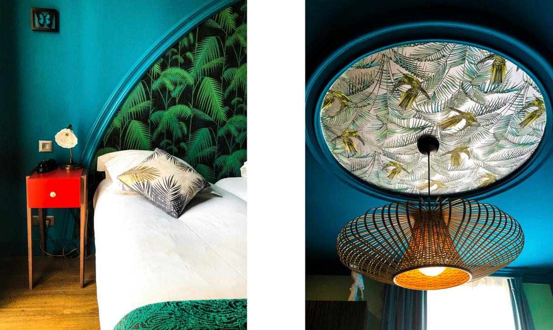 CasaFacile VZorzi stile jungalow hotel Bougainville Nizza dettagli