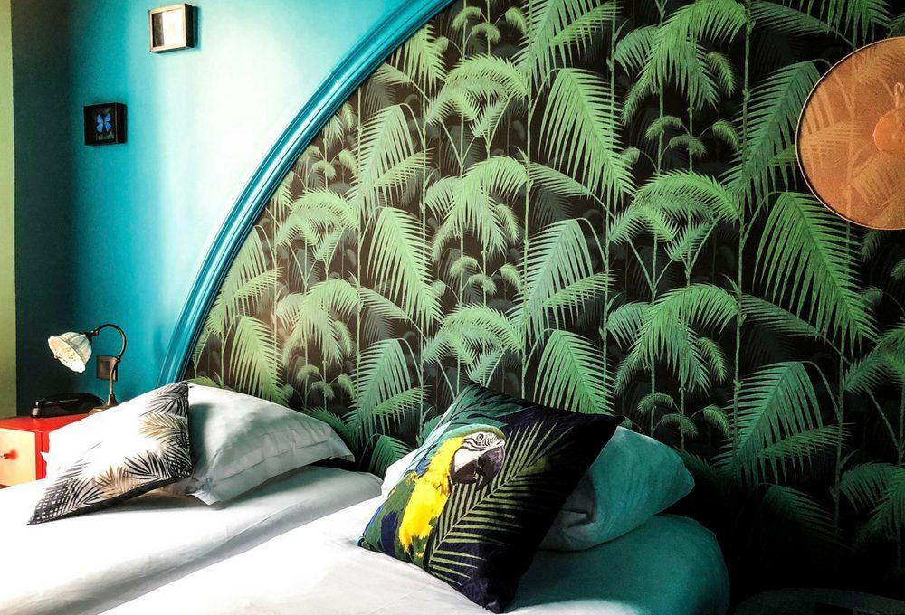 Copia lo stile jungalow dall'Hotel Villa Bougainville di Nizza