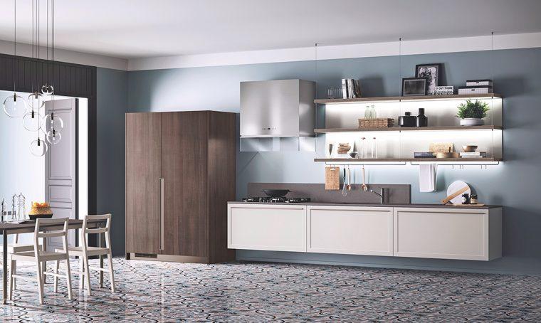 La cucina ideale per chi trasloca spesso o è in affitto