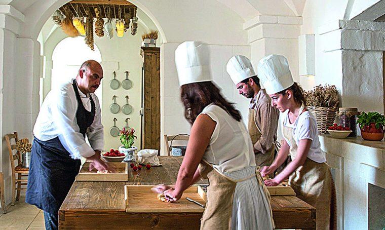 Corsi di cucina in giro per l'Italia