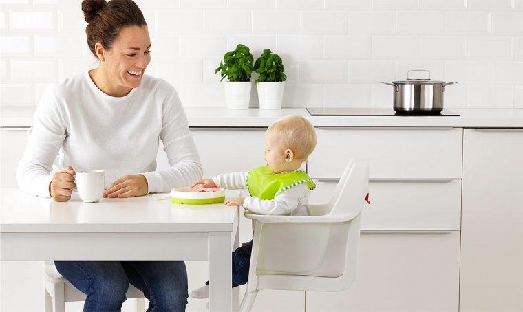 Scegli il seggiolone che sta bene con la tua cucina