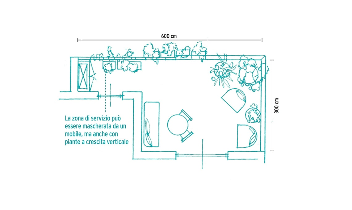 arredi terrazzo medie dimensioni