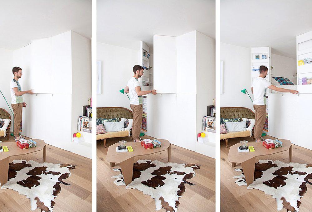 Come arredare un monolocale con mobili salvaspazio