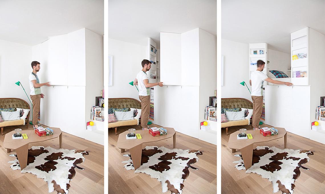 Come arredare un monolocale con mobili salvaspazio for Arredamento per piccoli spazi