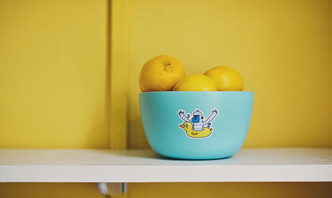 CasaFacile ACaputo giallo pantone-estate2018 limoni nella tazza