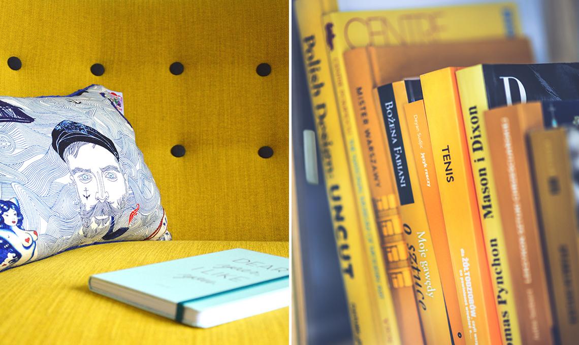 CasaFacile ACaputo giallo pantone-estate2018 divano libri