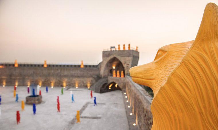 Cracking Art e il progetto di arte pubblica per la Fortezza di Acquaviva Picena