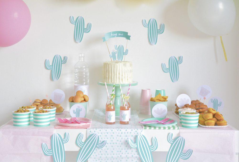 Una festa a tema cactus per l'estate con tanto DIY