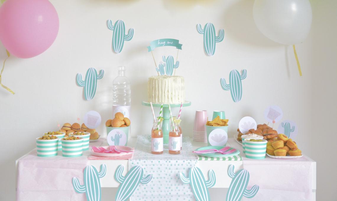 CasaFacile AFiorilli Cactus Summer Party tavola