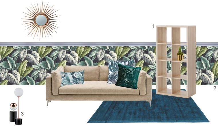 CasaFacile FPanarello living set cinematografico urban jungle